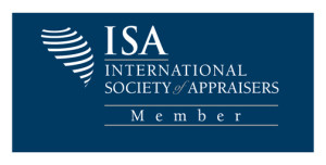 We are members of the International Society of Appraisers. An industry leader for personal property education and standards